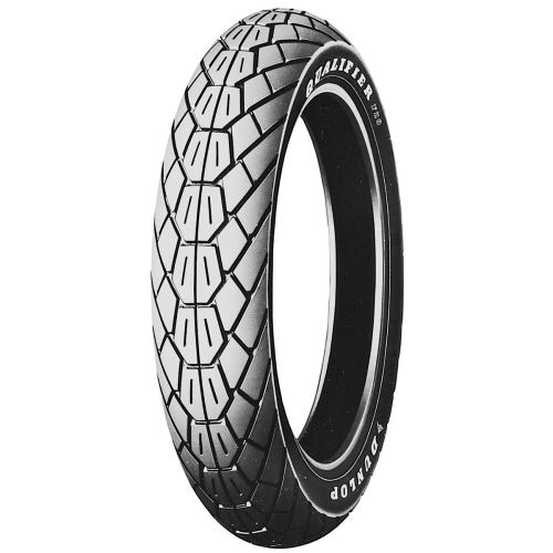 Dunlop f20 oem replacement white letter front tire for Dunlop white letter motorcycle tires