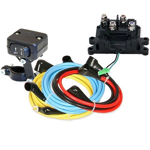 kfi products wiring upgrade kit with mini rocker switch. Black Bedroom Furniture Sets. Home Design Ideas