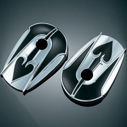 Kuryakyn ace of spades accent covers for stock mirrors for Mirror spades