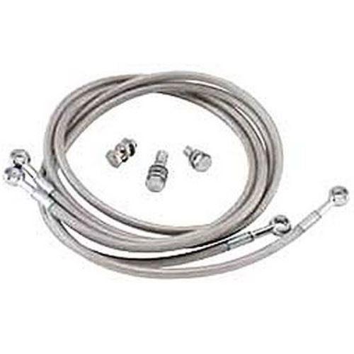 Ss Braided Brake Lines : Streamline universal braided stainless steel brake line