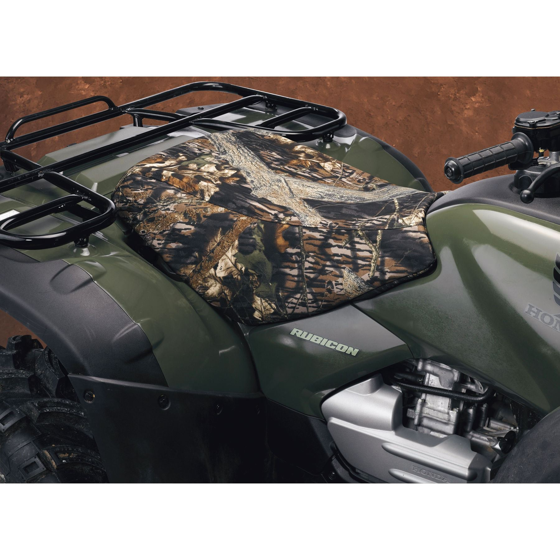 Honda Atv Seat Covers : Moose racing atv cordura seat cover honda fourtrax